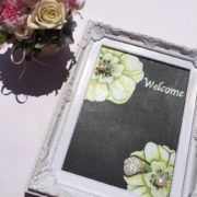 Wedding board (フラワー)